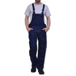 Work Bib and Brace Overall Blue 113.21