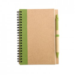 Notebook with pen IT3775